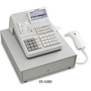 シャープ(SHARP) レジスター 本体 XE-A280 - 拡大画像