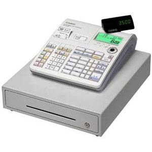 カシオ(CASIO) レジスター 本体 TE-3500-20M × レジロール紙(感熱紙) 20巻セット - 拡大画像