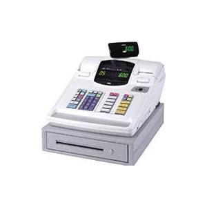 東芝テック レジスター MA-600-5 【ホワイト】 × レジロール紙(感熱紙) 20巻セット - 拡大画像