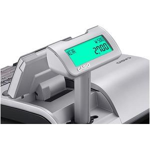 カシオレジスターTE-2700-20S シルバー