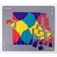 右脳を刺激する色の敷き詰めパズル「ジオピタ4色」スタンダード版 - 縮小画像3