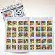 右脳を刺激する色の敷き詰めパズル「ジオピタ4色」スタンダード版 - 縮小画像4