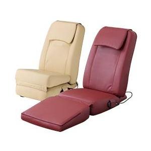 スライヴ 家庭用コンパクト電気マッサージチェア(座椅子タイプ) くつろぎ指定席 CHD3201 ベージュ - 拡大画像