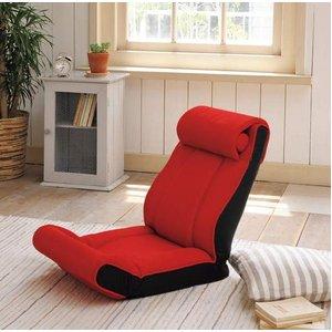 ツカモトエイム porto(ポルト) ボディアップチェア AIM-FN016 レッド (腹筋座椅子)  - 拡大画像