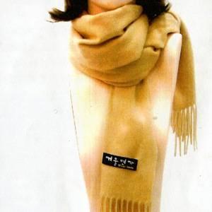 「冬のソナタ」オリジナル・マフラーコレクション ベージュ - 拡大画像