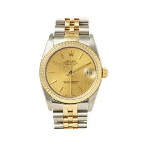 【中古A】ROLEX(ロレックス) 腕時計 デイトジャスト 68273 シャンパン X番 横穴無し - 拡大画像