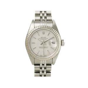 【中古A】ROLEX(ロレックス) 腕時計 デイトジャスト 79174 シルバータペストリー文字盤 K番 - 拡大画像