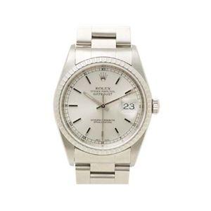 【中古A】ROLEX(ロレックス) 腕時計 デイトジャスト 16220 シルバー文字盤 Y番 - 拡大画像