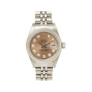 【中古A】ROLEX(ロレックス) 腕時計 デイトジャスト 69174G U番 ピンク文字盤 - 拡大画像