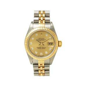 【中古A】ROLEX(ロレックス) 腕時計 デイトジャスト 79173G  シャンパン文字盤 Y番 - 拡大画像