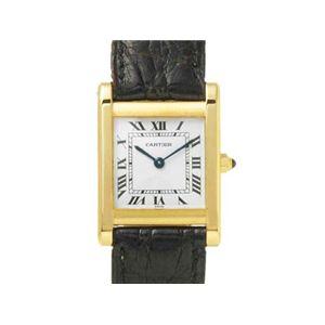 【現品限り】Cartier(カルティエ) レディースウォッチ タンクソロ K18YG【中古AB】 - 拡大画像