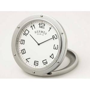 【現品限り】HERMES(エルメス) エルメス クリッパー 置き時計 トラベルクロック 【新品同様】 - 拡大画像