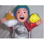 【ペルー産】伝説のエケッコー人形 19cmレッド(ミドルサイズ)