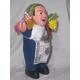 【ペルー産】伝説のエケッコー(エケコ)人形 19cm(ミドルサイズ) ダークブルー - 縮小画像2