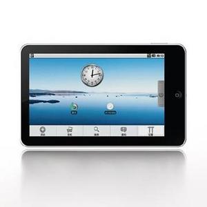 EKEN MID eBookリーダー M002S  (7インチ液晶 Android OS 1.6搭載)カメラ機能付き - 拡大画像
