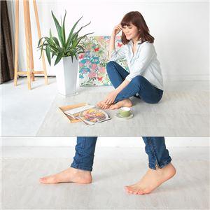 やさしいジョイントマット ナチュラル 約6畳分サイドパーツ レギュラーサイズ(30cm×30cm) 畳(たたみ) 〔クッションマット カラーマット 赤ちゃんマット〕 商品写真5