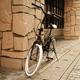 20インチ折畳自転車カラータイヤモデル ブラック×ホワイト - 縮小画像2