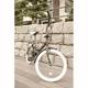 20インチ折畳自転車カラータイヤモデル ブラック×ホワイト - 縮小画像3