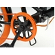 ドウシシャ 20インチ 折り畳み自転車カラータイヤモデル 外装6段変速付 ブラック×オレンジ GFD-206TOR - 縮小画像2