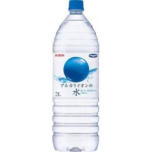 キリン ミネラルウォーター アルカリイオンの水 2LPET 12本セット (2ケース) - 拡大画像