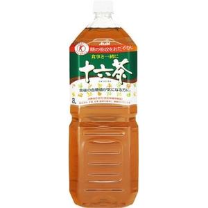 アサヒ 食事と一緒に十六茶 2LPET 12本セット (2ケース) 【特定保健用食品(トクホ)】 - 拡大画像