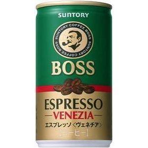 サントリー BOSS エスプレッソ(ヴェネチア) 170g缶 180本セット (6ケース) - 拡大画像
