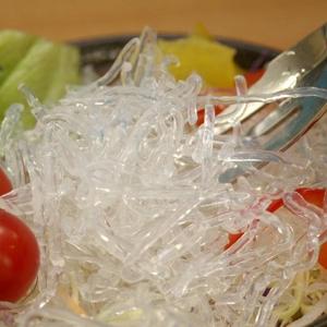 キラキラパリパリ 「海藻クリスタル」 サラダちゃん70g×20袋セット - 拡大画像