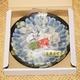 【特別販売】大分県産 豊後ふぐ刺身  1皿3人前盛り - 縮小画像4