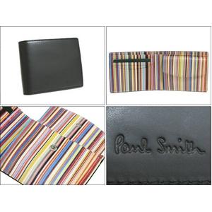 Paul Smith(ポールスミス) 小銭入れ付き 2つ折財布 インサイドマルチ 260-10 - 拡大画像