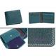 Paul Smith(ポールスミス) 小銭入れ付き 2つ折財布 ピッグスキン ターコイズ PSP617-37 - 縮小画像1