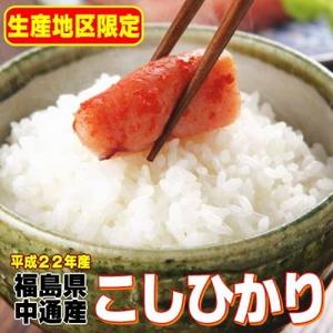 【味と価格に自信アリ!平成22年産】 福島県産こしひかり白米(30Kgの玄米を精米して出荷します。重量が約10%目減りします)  - 拡大画像