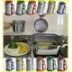 油こし器/オイルポット 【グリーン】 フィルター付き 日本製 『カラーコスロン』 〔キッチン用品 調理グッズ〕 - 縮小画像2
