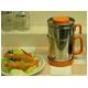 油こし器/オイルポット 【オレンジ】 フィルター付き 日本製 『カラーコスロン』 〔キッチン用品 調理グッズ〕 - 縮小画像2