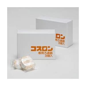 コスロン交換用フィルター/油こし器用フィルター 【40個】 パルプ100% 日本製 〔キッチン用品 調理グッズ〕