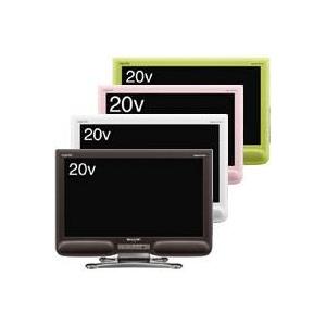 シャープ 20型液晶テレビ LC-20NE7 【アクオス】 グリーン系(G) - 拡大画像
