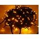 LED 300球イルミネーション クリスマスにも 連結可能 黄 - 縮小画像1