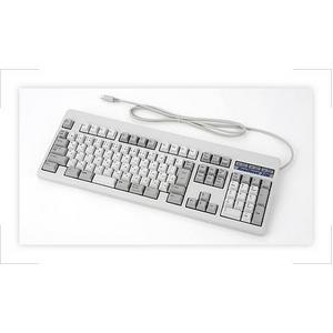 Realforce PS2 フルキーボード(日本語配列モデル/カラー:白) - 拡大画像