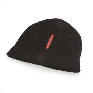 ブランドニット帽  PRADA(プラダ) NERO - 拡大画像