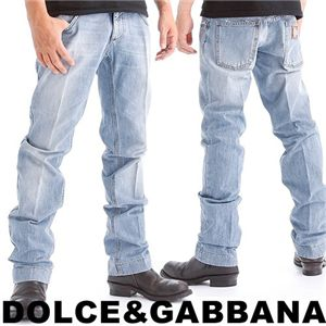 DOLCE&GABBANA(ドルチェ&ガッパーナ) メンズデニム G4A8TD-G8C13 (52) - 拡大画像