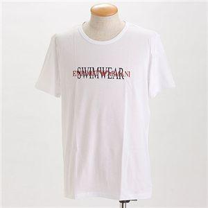 EMPORIO ARMANI(エンポリオ アルマーニ) ロゴプリントTシャツ 211067-0S454/【A】ホワイト54 - 拡大画像