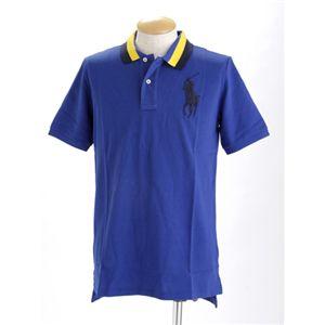Polo RalphLauren(ラルフ ローレン) ボーイズ ビックポニー ポロシャツ ブルー XL - 拡大画像