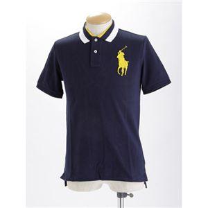 Polo RalphLauren(ラルフ ローレン) ボーイズ ビックポニー ポロシャツ ネイビー XL - 拡大画像