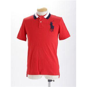 Polo RalphLauren(ラルフ ローレン) ボーイズ ビックポニー ポロシャツ レッド M - 拡大画像