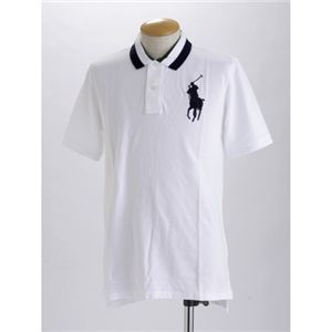 Polo RalphLauren(ラルフ ローレン) ボーイズ ビックポニー ポロシャツ ホワイト XL - 拡大画像