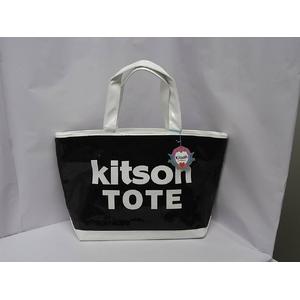 kitson(キットソン) シークインEWトート 3957 ブラック/ホワイト - 拡大画像