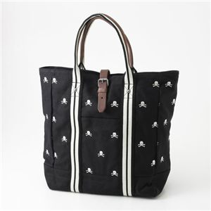 Ralph Lauren(ラルフローレン) スカル刺繍 トートバッグ RUGBY TOTE BLACK - 拡大画像
