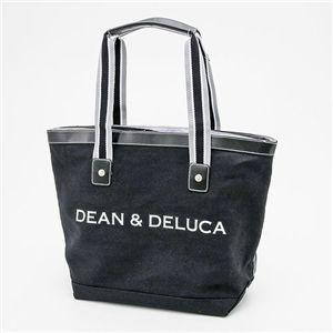 DEAN&DELUCA(ディーン&デルーカ) キャンバス トートバッグ MEDIUM BLACK - 拡大画像