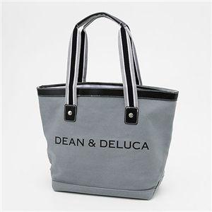 DEAN&DELUCA(ディーン&デルーカ) キャンバス トートバッグ MEDIUM GREY - 拡大画像