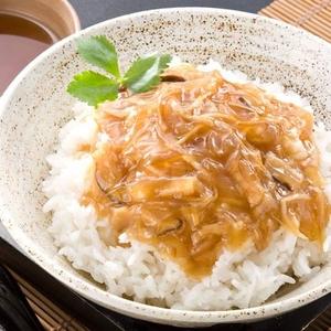 中華料理界チャンピオンの「本格フカヒレ丼の具」10食セット - 拡大画像