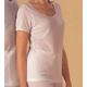 汗とり肌着(帝人テビロン使用)婦人三分袖インナー L - 縮小画像1
